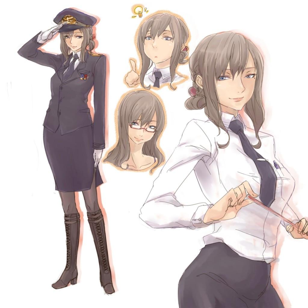 スカートスーツ 女一人 -コミック -アニメーション203