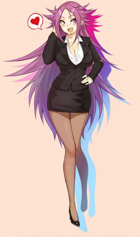 スカートスーツ 女一人 -コミック -アニメーション264