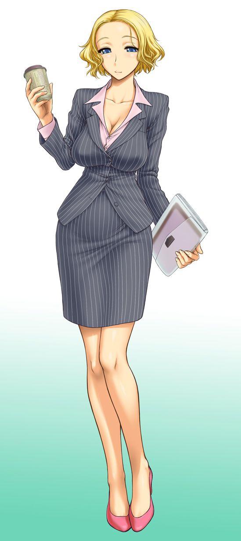 スカートスーツ 女一人 -コミック -アニメーション227