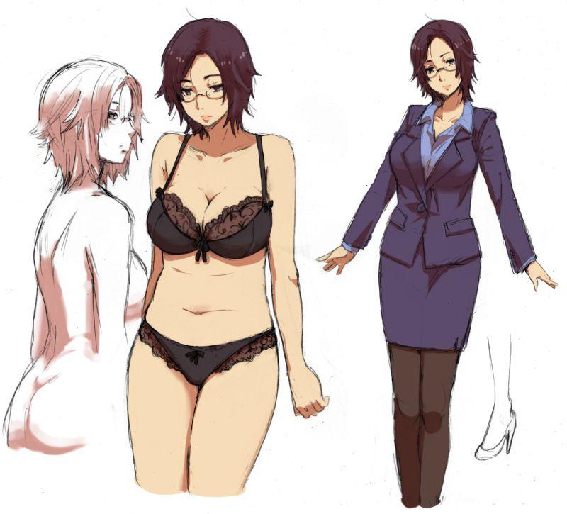 スカートスーツ 女一人 -コミック -アニメーション226