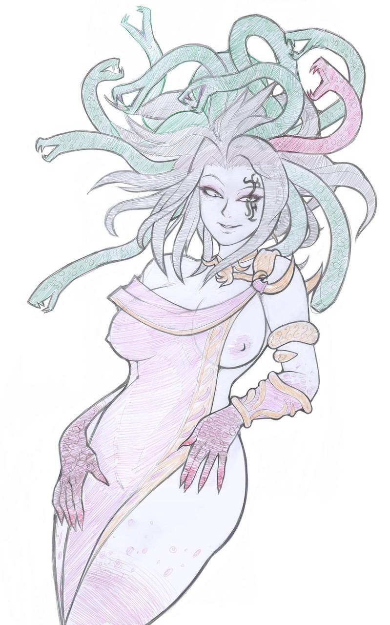 服から片乳露出 女一人  -コミック -人外405