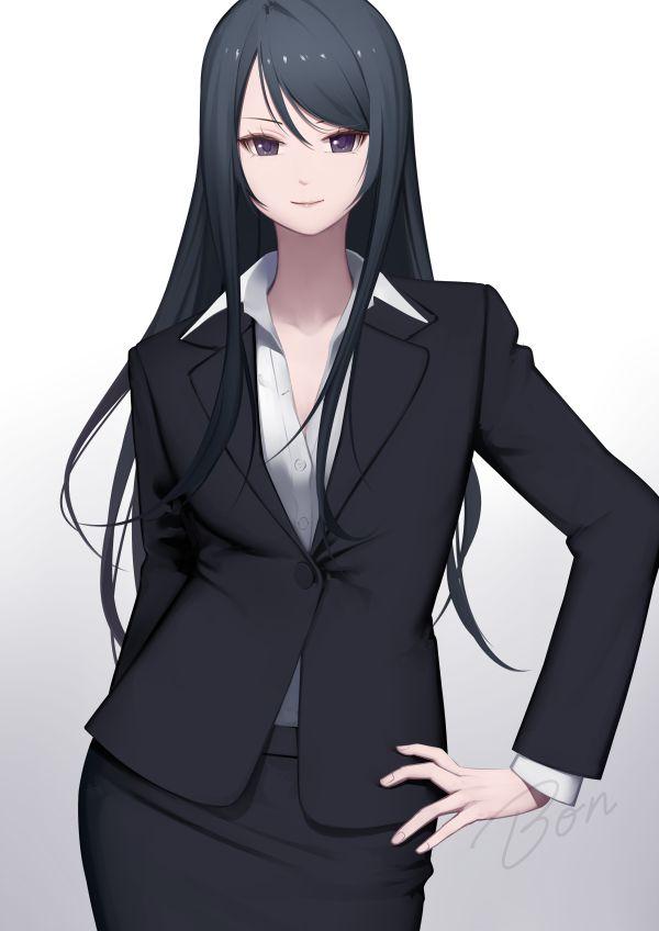 スカートスーツ 女一人 -コミック -アニメーション307