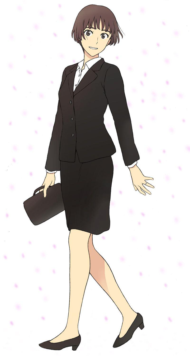 スカートスーツ 女一人 -コミック -アニメーション306
