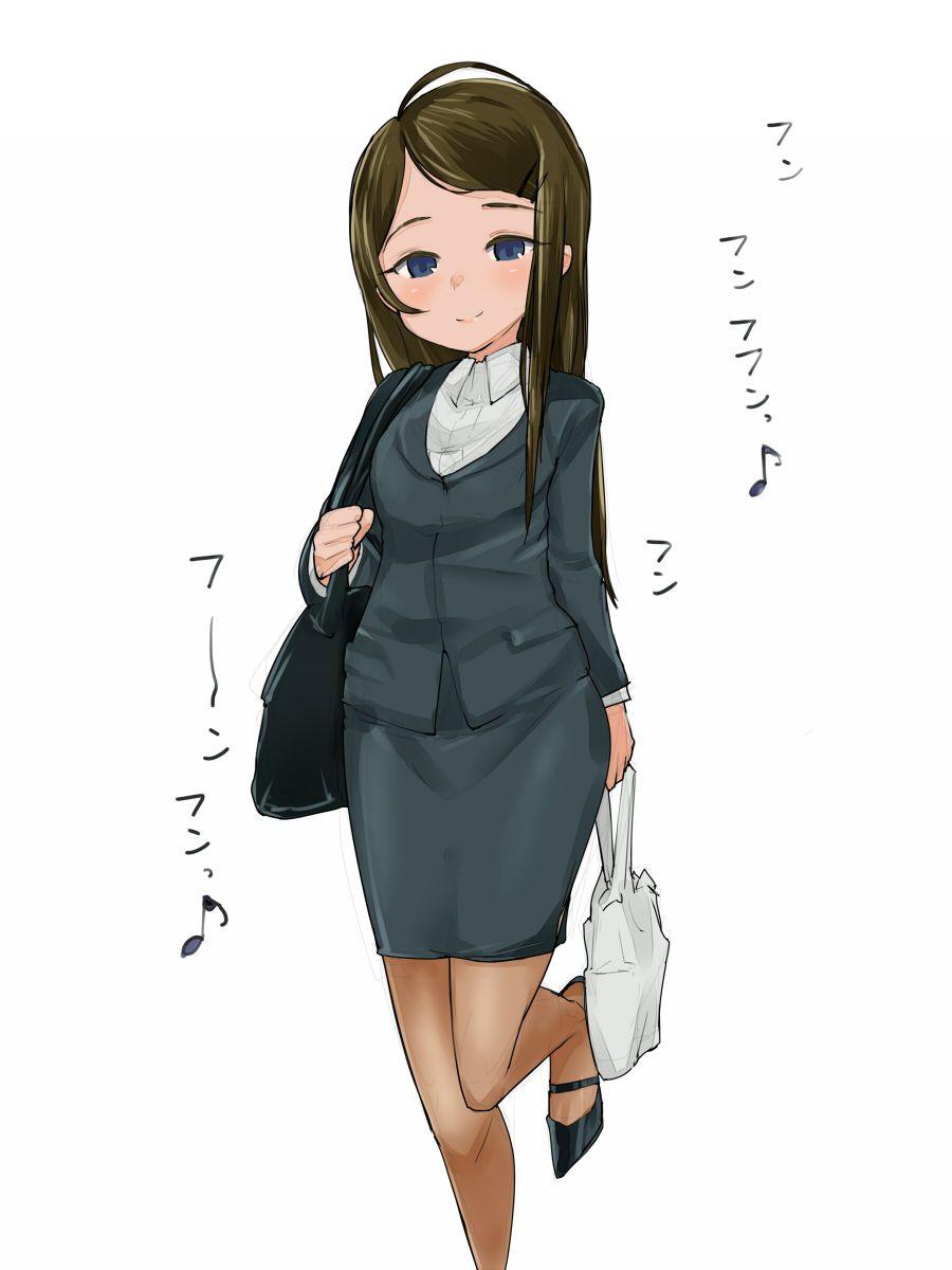 スカートスーツ 女一人 -コミック -アニメーション130