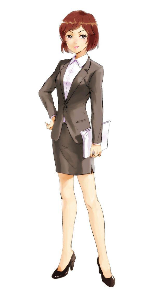 スカートスーツ 女一人 -コミック -アニメーション224