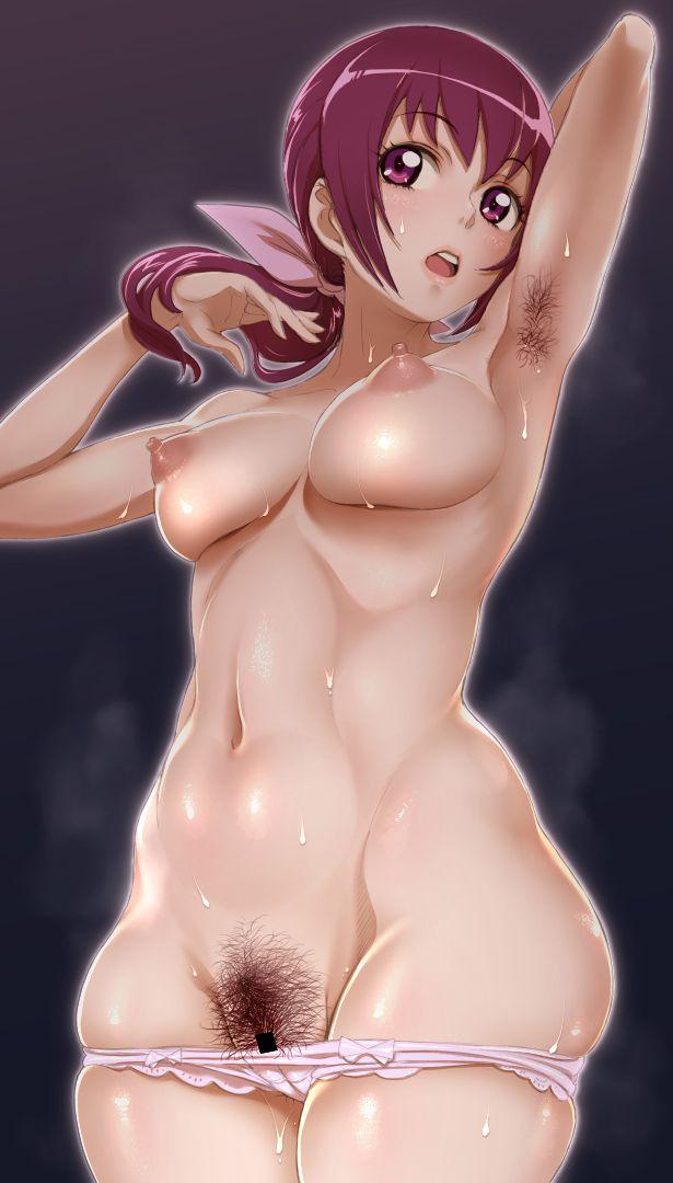 armpits hair steam046