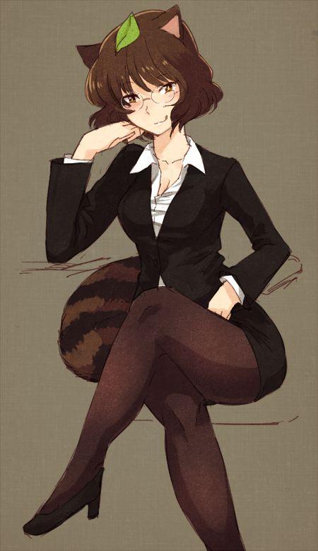 スカートスーツ 女一人 -コミック -アニメーション032