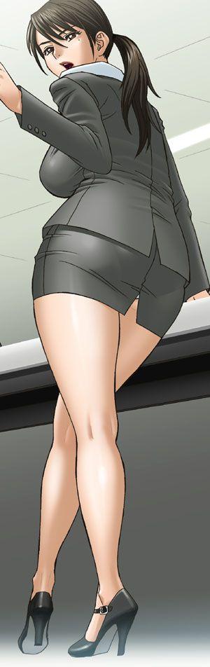 スカートスーツ 女一人 -コミック -アニメーション163