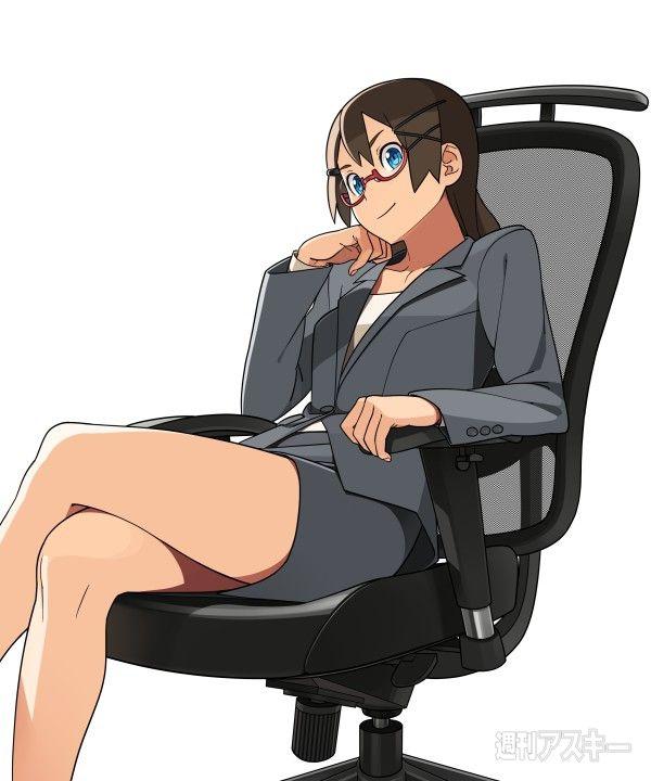 スカートスーツ 女一人 -コミック -アニメーション000