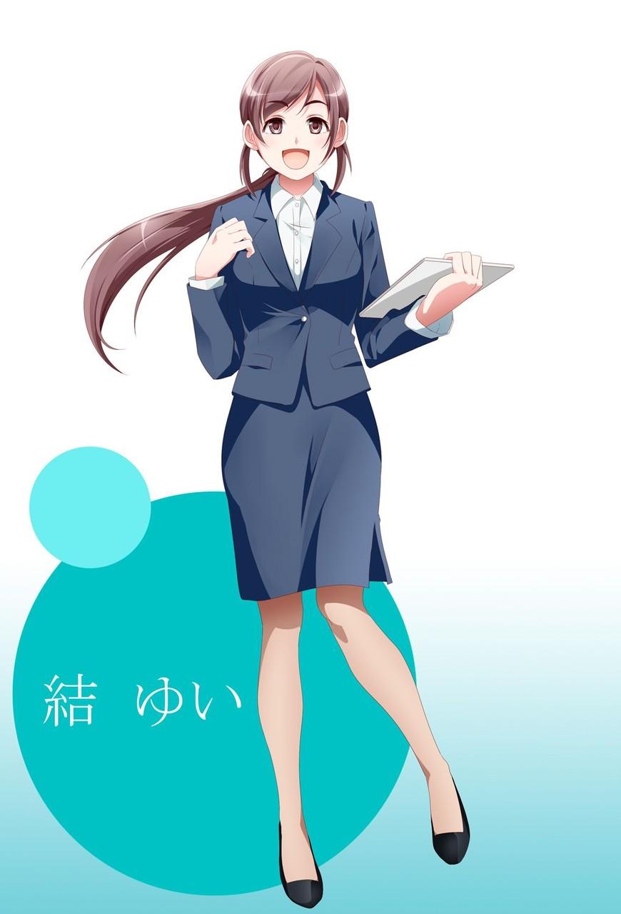 スカートスーツ 女一人 -コミック -アニメーション300