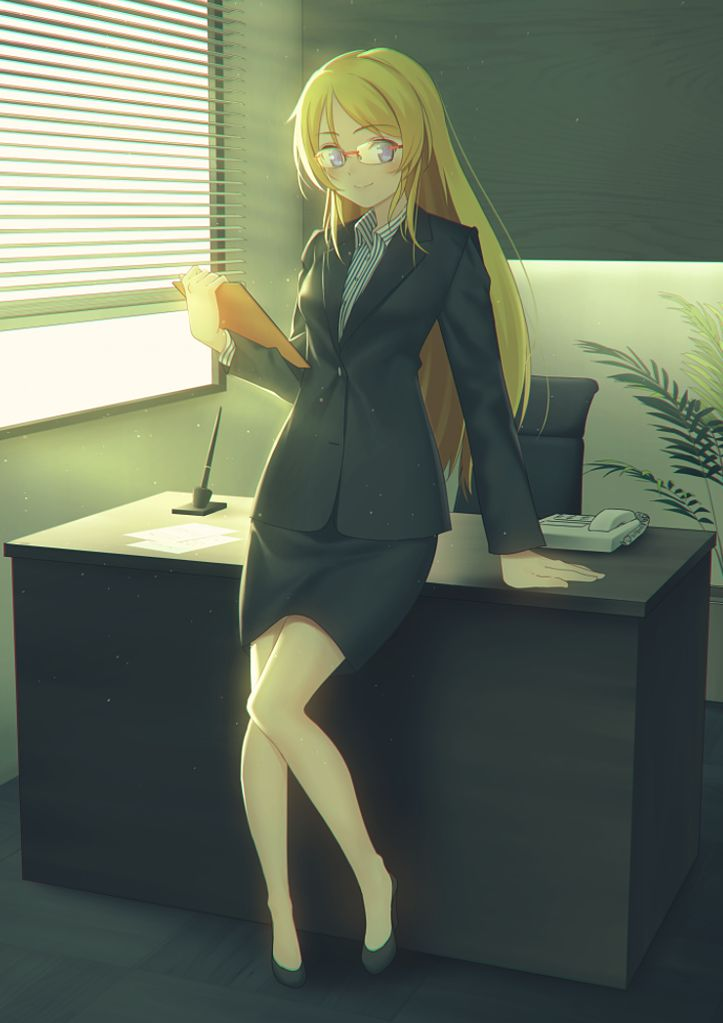 スカートスーツ 女一人 -コミック -アニメーション114