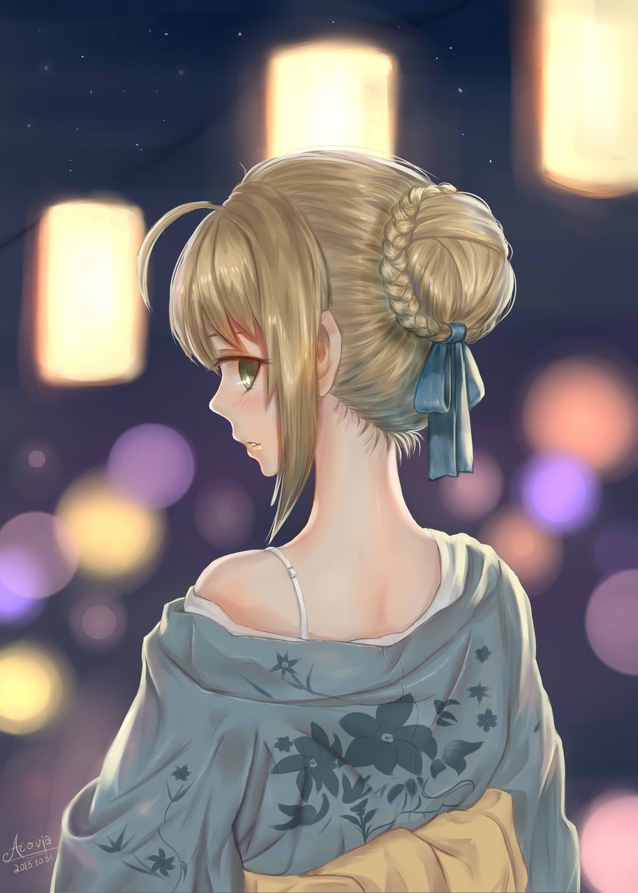 saber fatestay_night -saber_alter 一人009