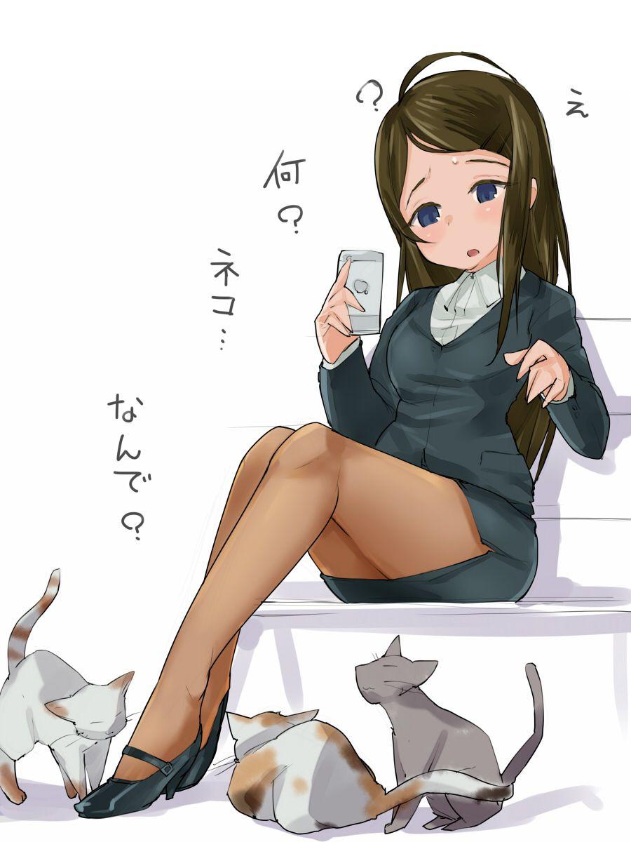 スカートスーツ 女一人 -コミック -アニメーション048
