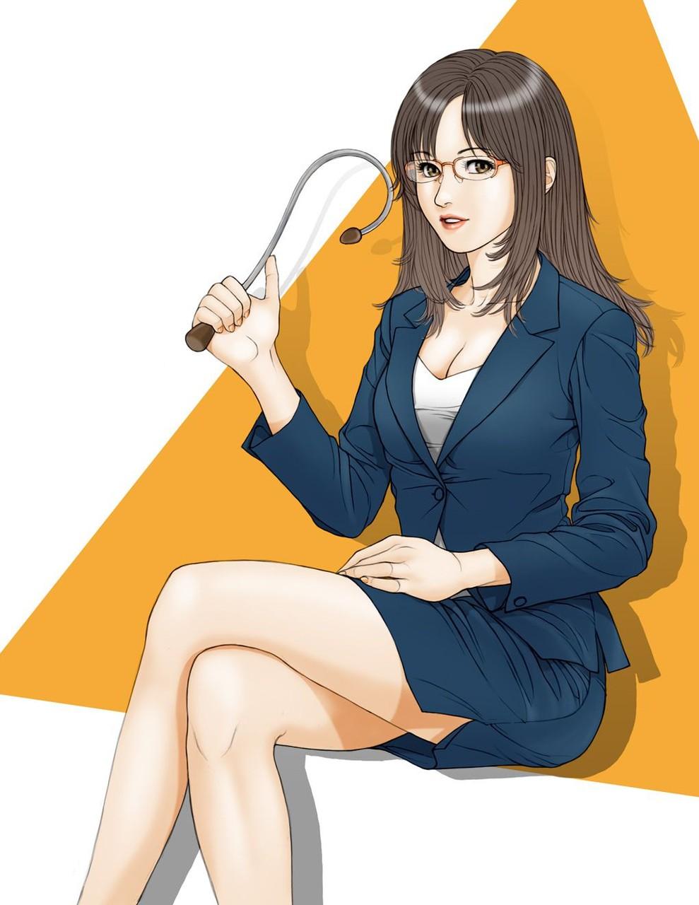 スカートスーツ 女一人 -コミック -アニメーション003