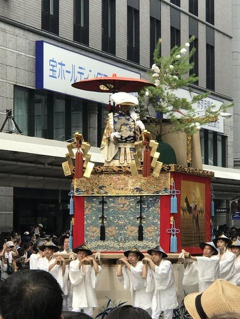 17.7.17祇園祭孟宗山