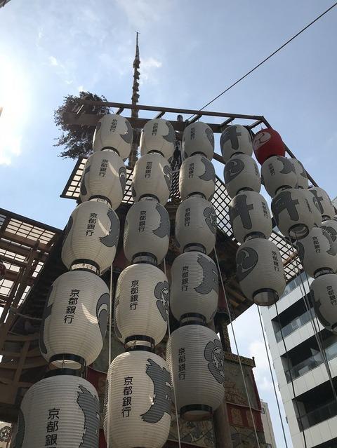 18.7.16祇園祭月鉾