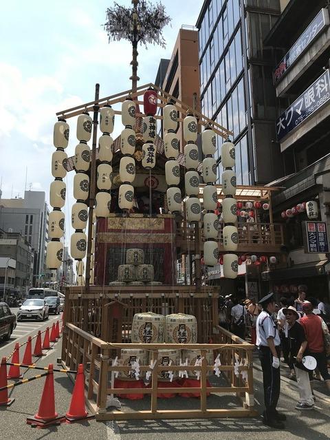 18.7.16祇園祭函谷鉾