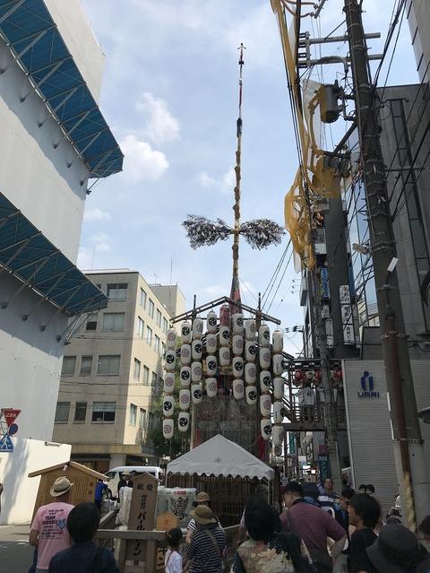 18.7.16祇園祭鶏鉾
