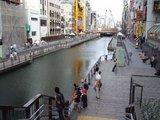 阪神優勝直前_ドンキ付近の遊歩道