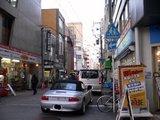 堺筋からMEL-CAFE建設予定地をみる
