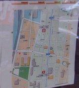ampm日本橋5丁目店_0619に閉店貼紙_地図拡大