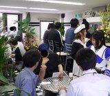 Cafe萌え萌え_店内の様子_奥からカウンター方向
