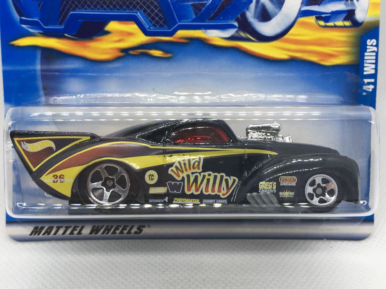 2001 Hot Wheels #110 /'41 Willys