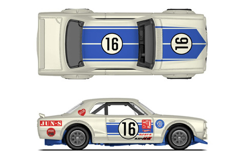 Hot-Wheels-Nissan-Skyline-HT-2000GT-X-Hakosuka-Japan-Historics