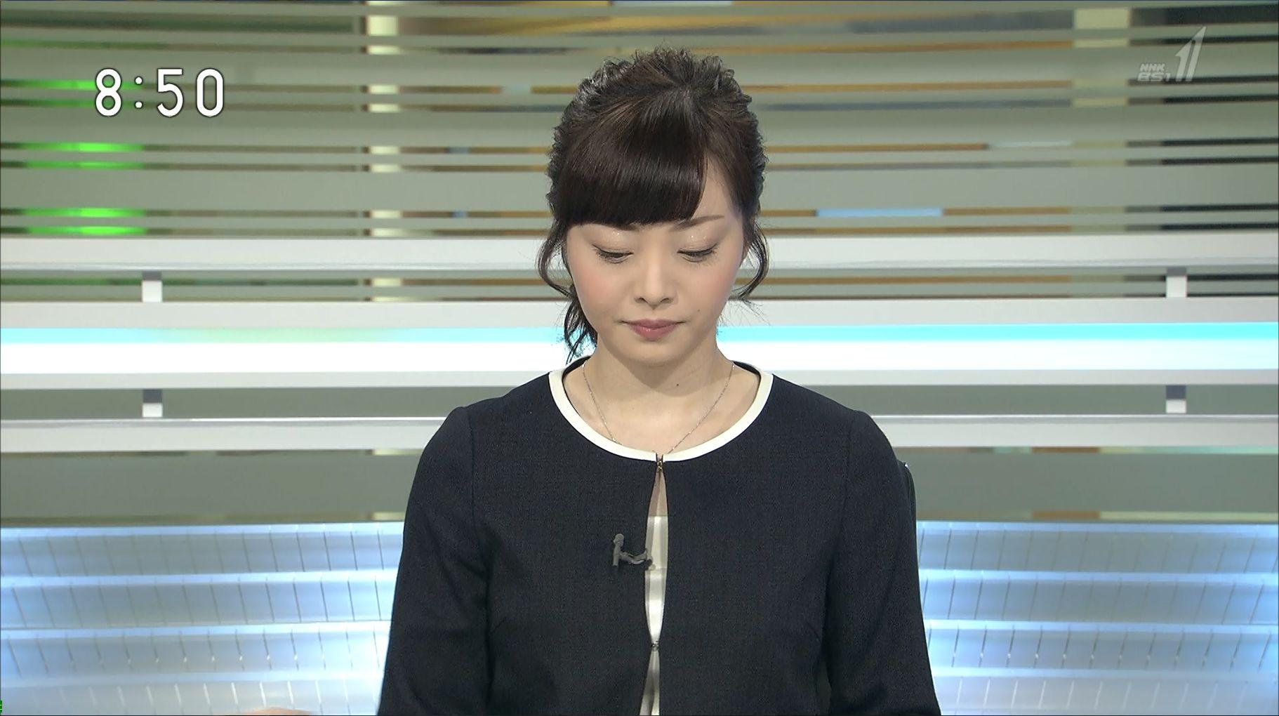 上代真希 BSニュース 16/04/17:...