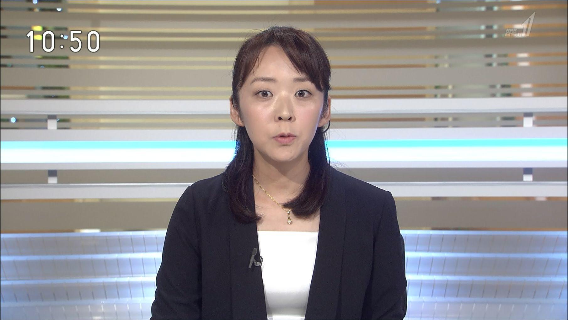 秋山千鶴 BSニュース 18/08/15:...