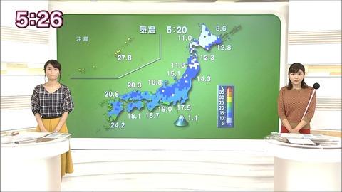 果奈 おはよう 日本 中山