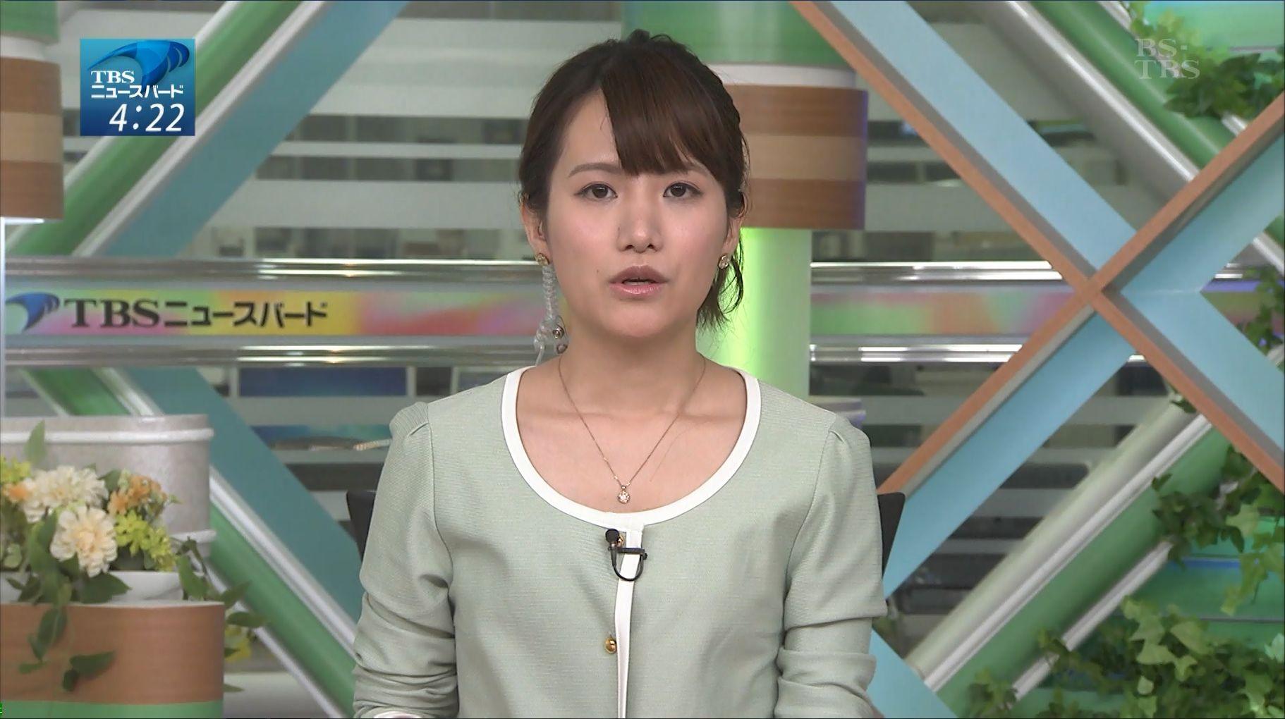 尾島沙緒里 朝一番BS-TBSニュー...