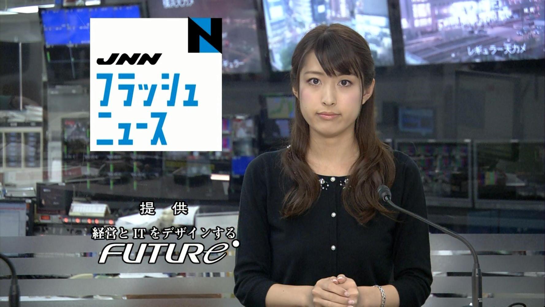 ニュース番組での佐藤渚