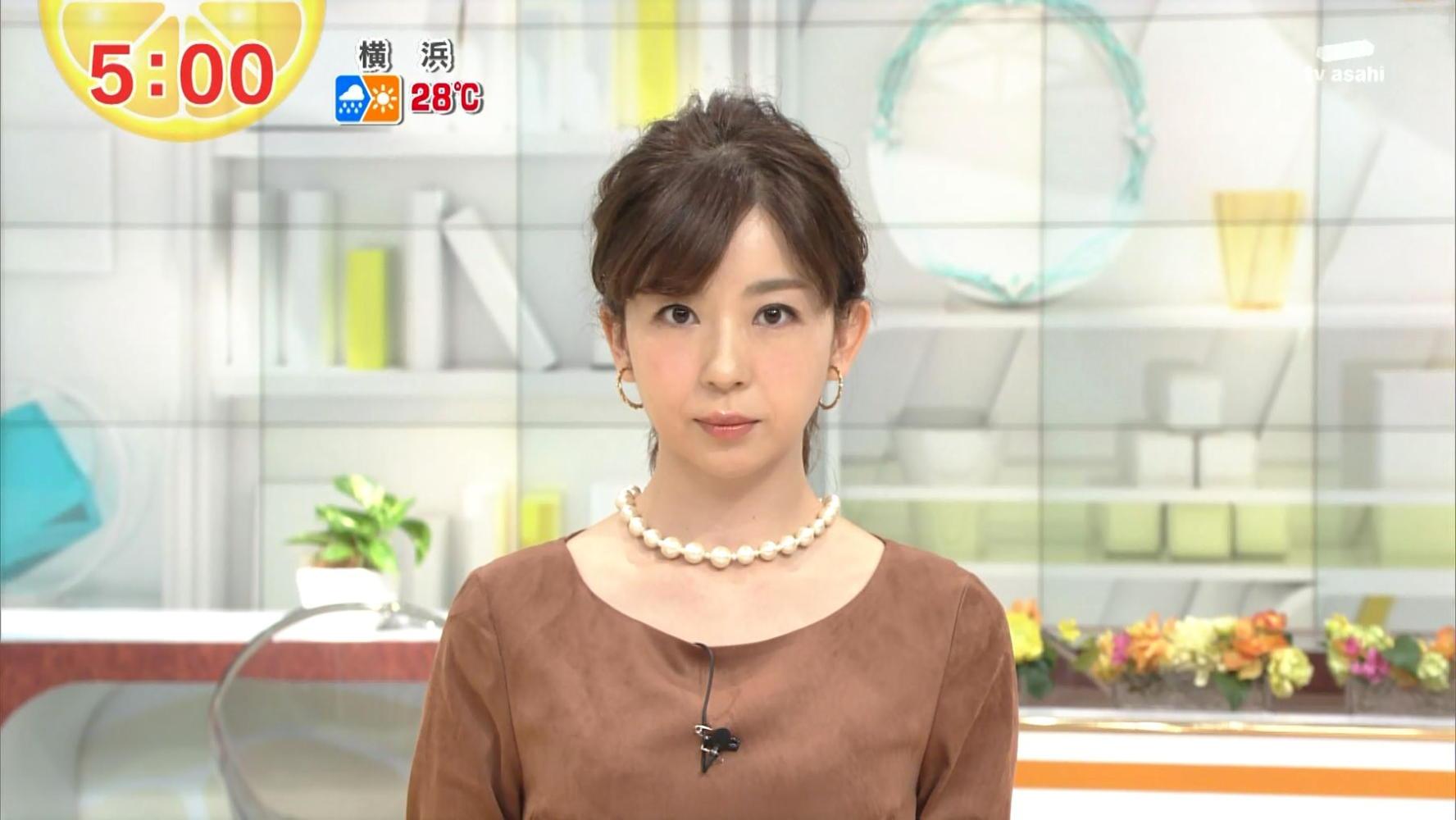 松尾由美子 グッド!モーニング 13/10/11:女子アナキャプでも貼っ ...