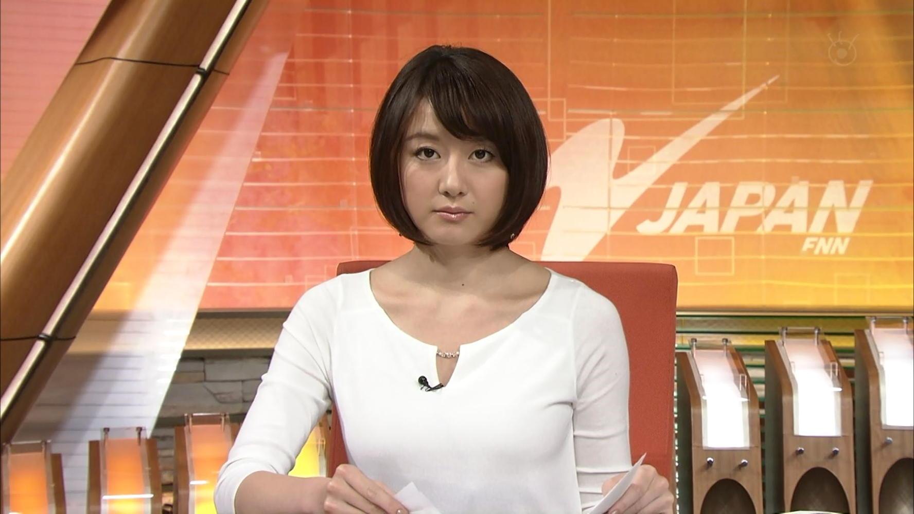 大島由香里 ニュースJAPAN 14/01...