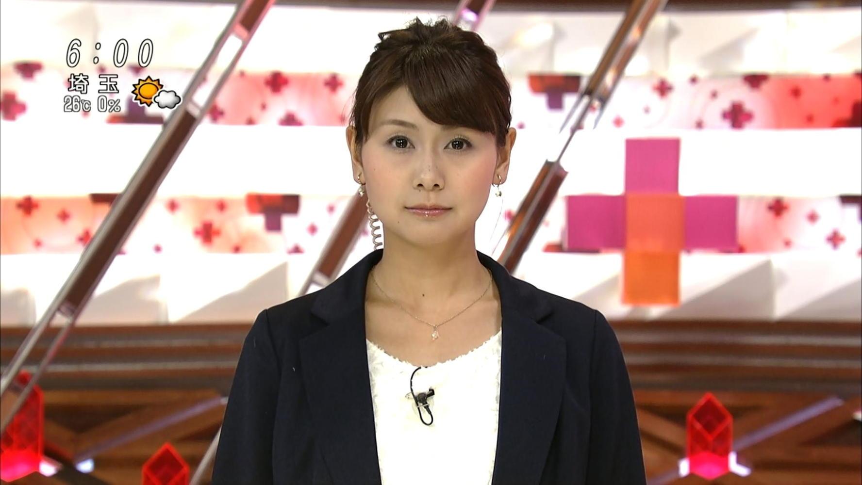 山中章子 産経テレニュースFNN 13/09/29:女子アナキャプでも... 山中章子 via