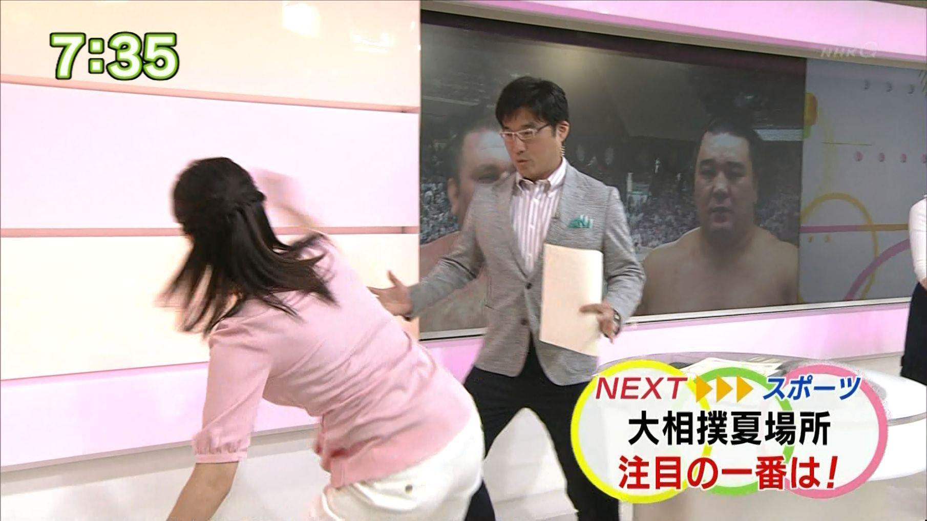 森花子 おはよう日本 15/05/20:...