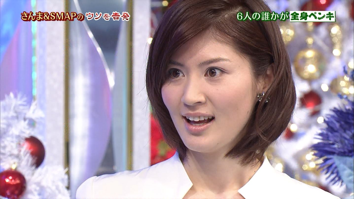 鈴江奈々 さんま&SMAP 12/12/23...