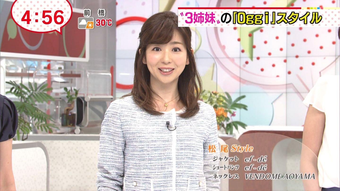 画像】松尾由美子アナは結婚しな...