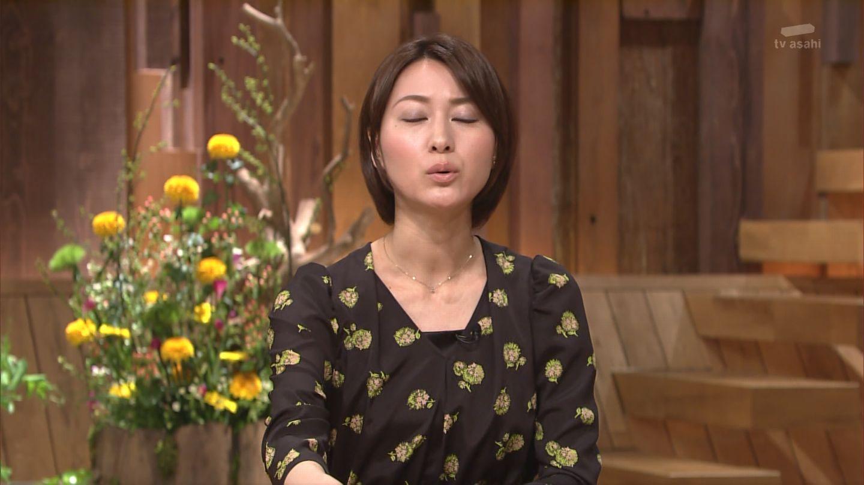 キス顔に見える小川彩佳のセクシーな画像
