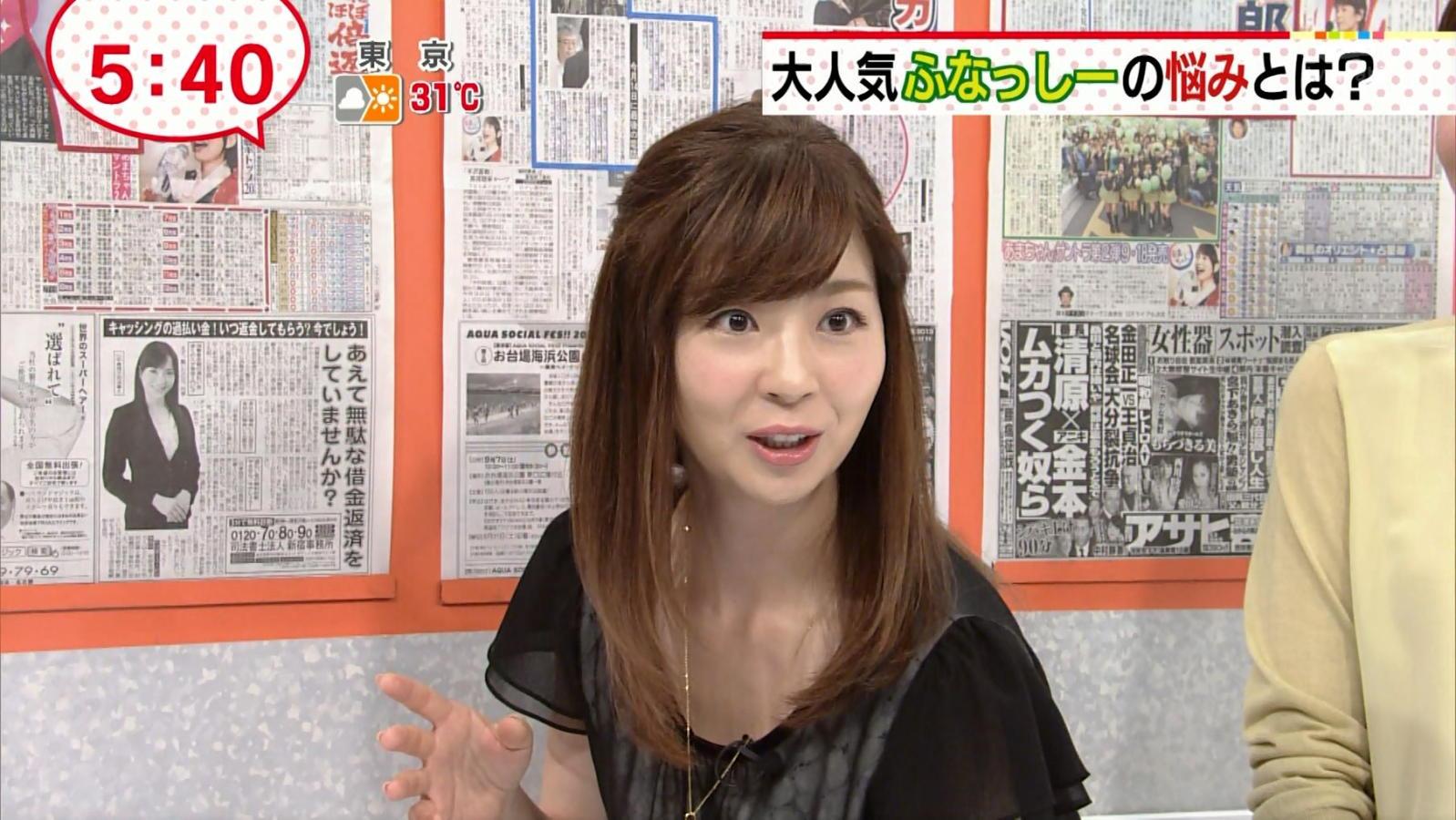 松尾由美子:女子アナキャプでも...