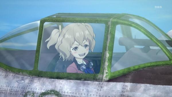 「荒野のコトブキ飛行隊」4話感想 (9)