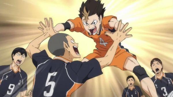 「ハイキュー!! 烏野高校VS白鳥沢学園高校」 (133)