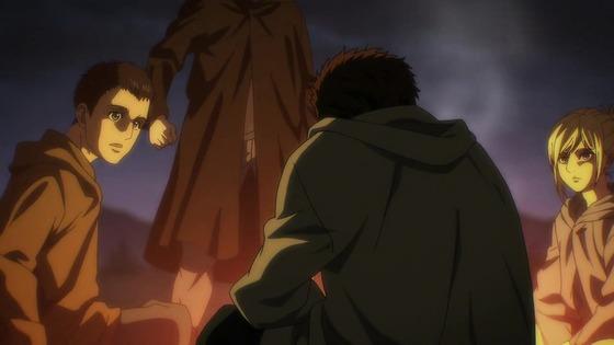 「進撃の巨人」62話(4期 3話)感想 (85)