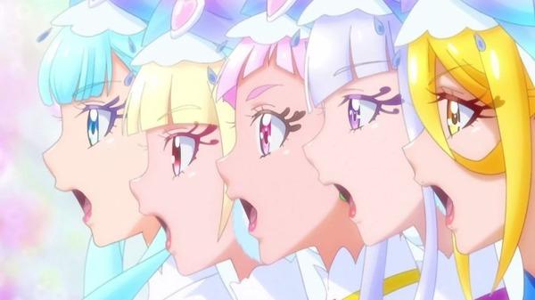 「HUGっと!プリキュア」31話感想 はなの時間は止まらず進む!メモリアルキュアクロック誕生、プリキュア・チアフルアタック!!(画像)