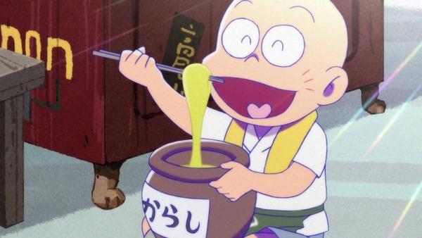 「おそ松さん」2期 11話感想 チビ太がツケと髪の恨みで怒り爆発!六つ子に何かしらの罰!!(画像、修正)