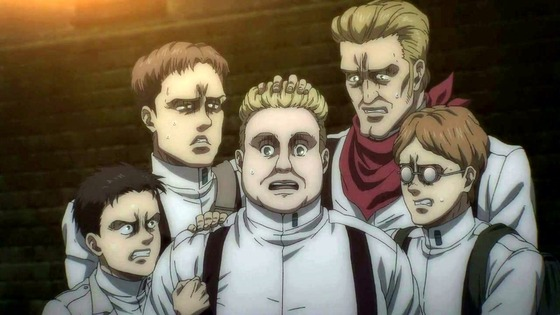 「進撃の巨人」64話(4期 5話)感想 (60)