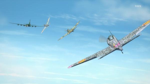 「荒野のコトブキ飛行隊」10話感想 (27)