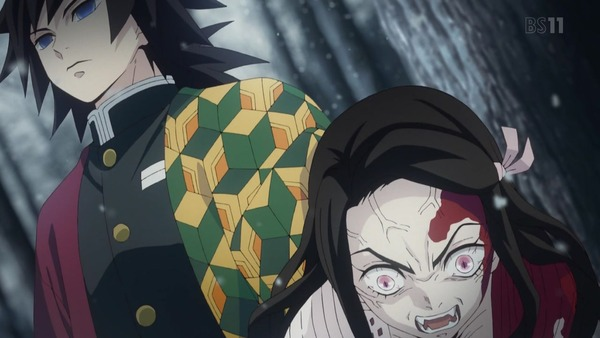 「鬼滅の刃」第1話感想  (22)