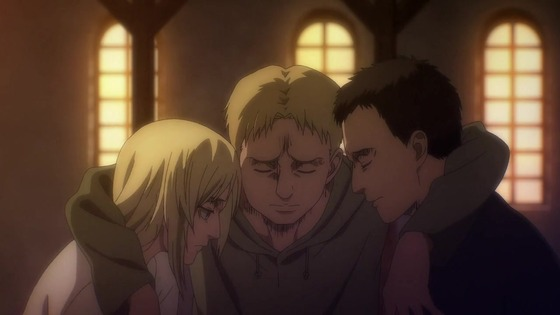 「進撃の巨人」62話(4期 3話)感想 (131)